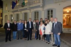 L'amministrazione Comunale di Castenedolo con il Presidente del Senato Piero Grasso