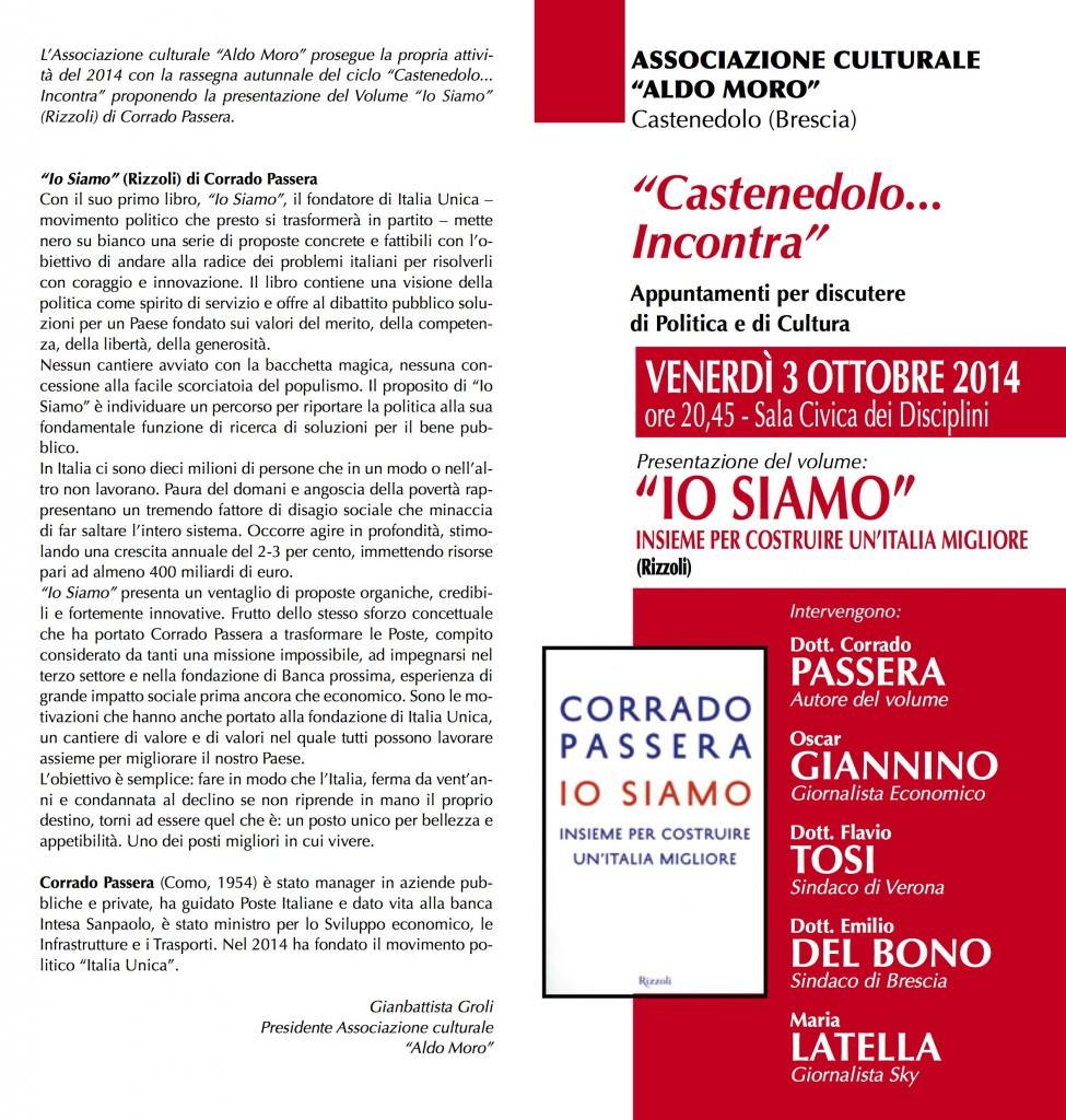 Presentazione libro Corrado Passera